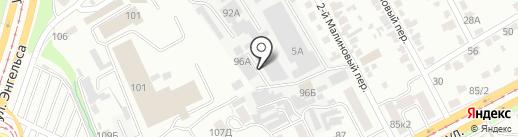 Неореклама на карте Курска
