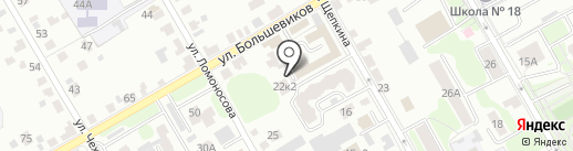 Агростройсити на карте Курска