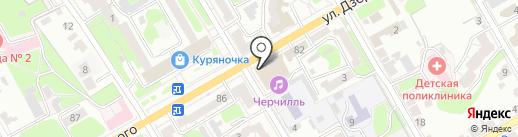 Лотос на карте Курска