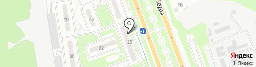Суши-маркет на карте Курска