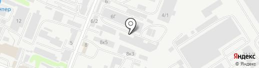 Газавтосеть+ на карте Курска