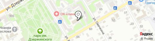 Мировые судьи Центрального округа г. Курска на карте Курска