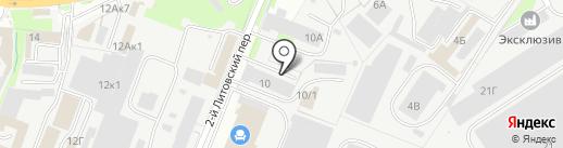 Пункт технического осмотра транспорта на карте Курска