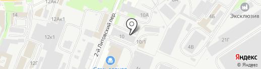 Автобаня на карте Курска