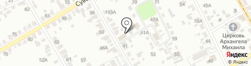 Курский областной дом народного творчества на карте Курска