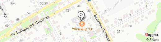 Курское социально-реабилитационное предприятие на карте Курска