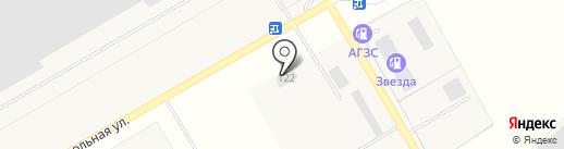 Автозапчасти на карте Орла