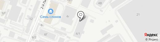 KURSKATE на карте Курска