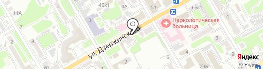 Ателье по ремонту одежды на карте Курска