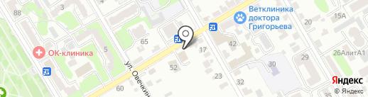 КСК Монолит на карте Курска