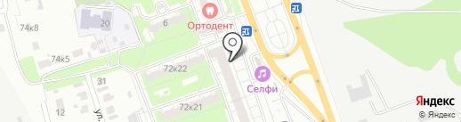 Адвокатский кабинет Мамай И.Н. на карте Курска