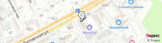 Т.Б.М.-ЧЕРНОЗЕМЬЕ на карте Курска