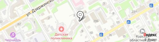 OBLAKA на карте Курска