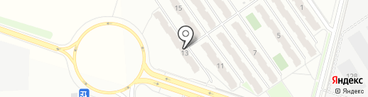Джесси на карте Калуги