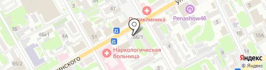 PUPER.RU на карте Курска