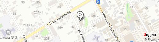Дом культуры Всероссийского общества глухих на карте Курска
