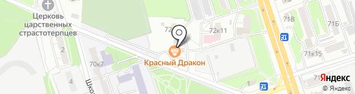 Кровля46 на карте Курска