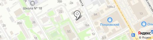 Магазин белья на карте Курска