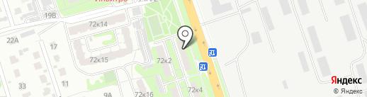 Building-21 на карте Курска