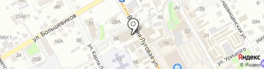 Белуга на карте Курска