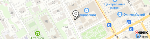 Салон 2116-электронный почтамт на карте Курска