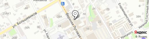 Независимый кредитный советник на карте Курска