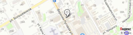 Творческий ЗАВОД 5.40 на карте Курска