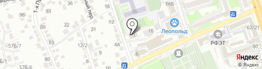КАСИОР-КУРСК на карте Курска