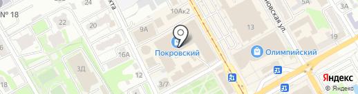 Феникс на карте Курска