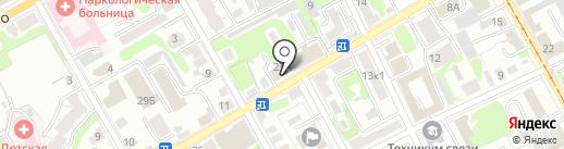 Адвокатский кабинет Елфимовой Т.А. на карте Курска