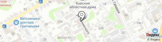 Администрация Курского района на карте Курска