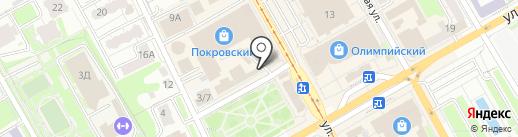 Хлопок на карте Курска