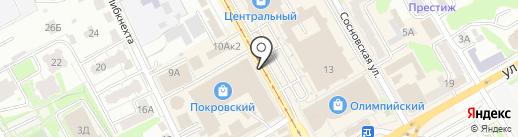 Магазин спецодежды на карте Курска