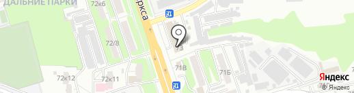 Радиал-Сервис на карте Курска