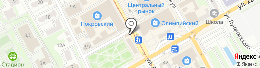 Продуктовый магазин на карте Курска