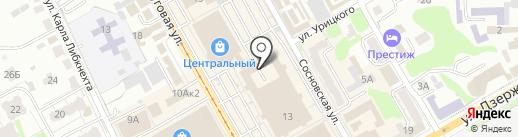 Защитник прав потребителей на карте Курска