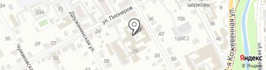 ПАРТИЯ ВЕЛИКОЕ ОТЕЧЕСТВО на карте Курска