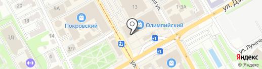 БИС на карте Курска