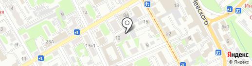 Пика на карте Курска