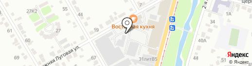 Баня на дровах на карте Курска