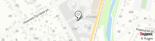 СитиСтрой на карте Курска