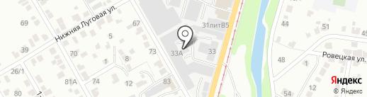 На Мельнице на карте Курска