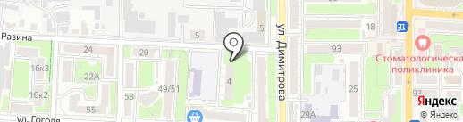 Bizandsoft на карте Курска