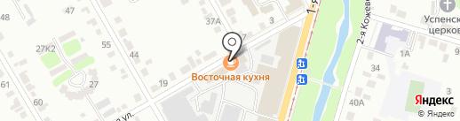Восточная кухня на карте Курска