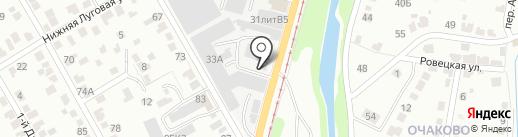R+Y на карте Курска