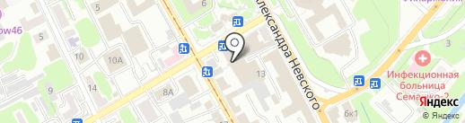 Инвестком на карте Курска