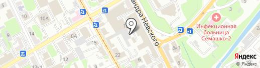 Дядько-Сервис на карте Курска