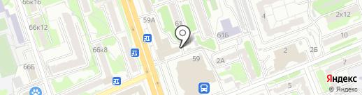 Паром на карте Курска