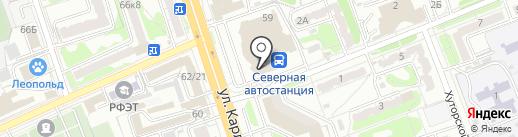Аскона на карте Курска