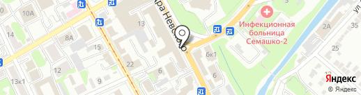 Адвокатский кабинет Котовой Т.А. на карте Курска